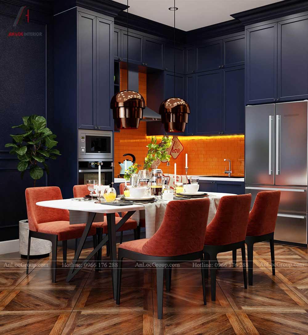 Nội thất chung cư The One Saigon 80m2 phong cach luxury 6