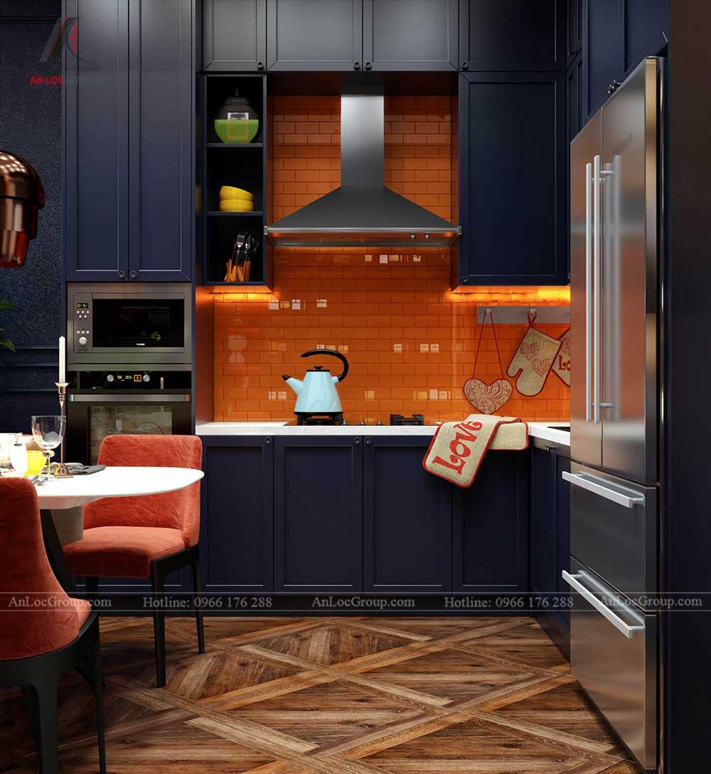 Nội thất chung cư The One Saigon 80m2 phong cach luxury 7