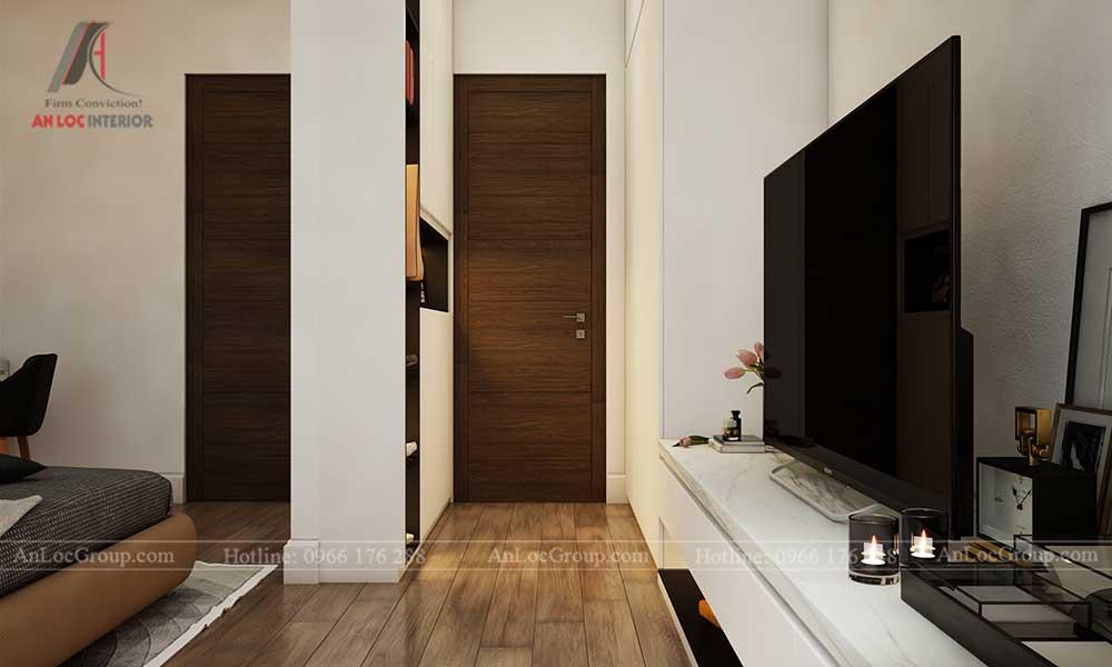 Thiết kế nội thất biệt thự Lakeview City - Phòng ngủ 2