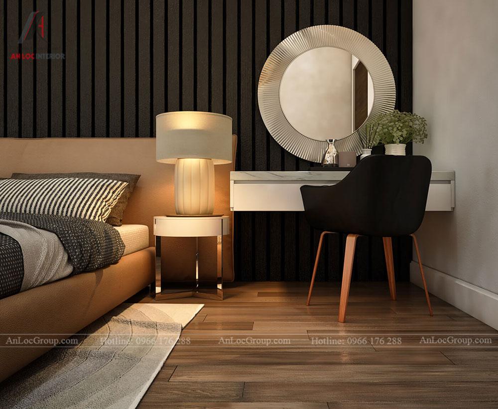 Thiết kế nội thất biệt thự Lakeview City - Phòng ngủ 4