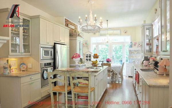 Thiết kế phòng bếp Vintage độc đáo và ấn tượng