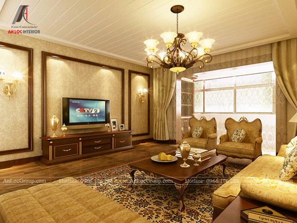 Phong cách nội thất cổ điển luôn hướng đến sự cân bằng và đối xứng