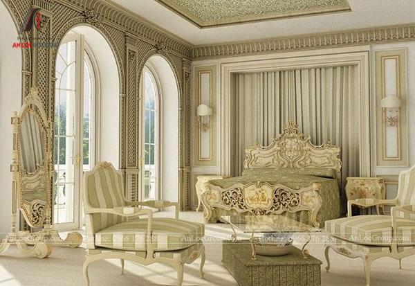 Mẫu nội thất cổ điển Châu Âu