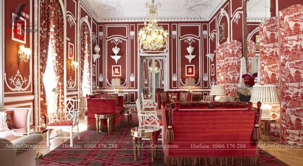Không gian nội thất phong cách Classic Reinterpreted Style