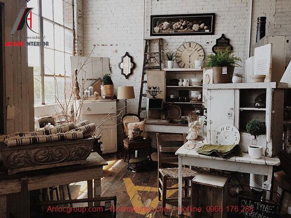 Đồ nội thất phong cách vintage