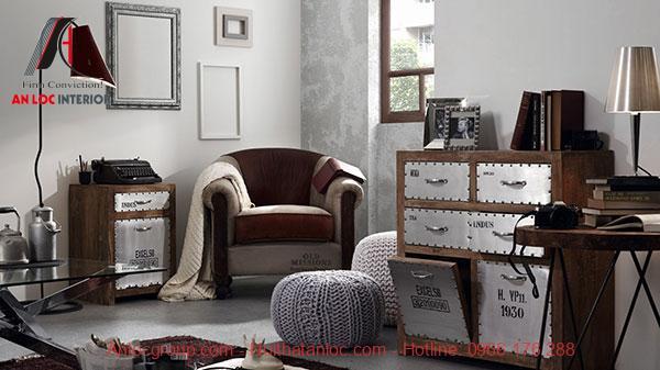 Màu sắc trong nội thất Vintage