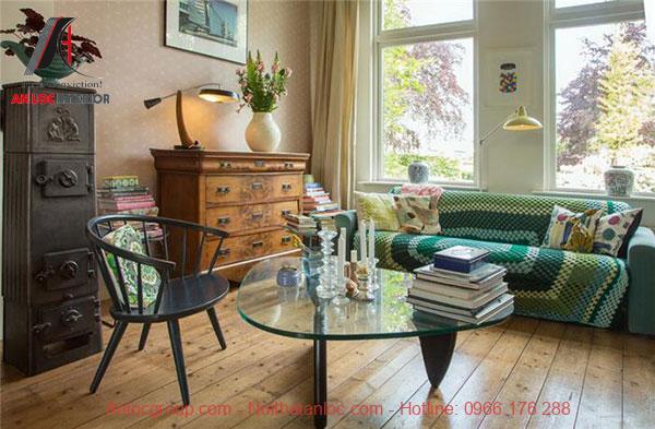 Phong cách vintage trong nội thất