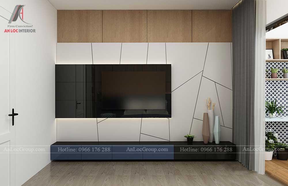 Thiết kế nội thất nhà phố - phòng ngủ master