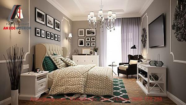 trang trí phòng ngủ theo phong cách vintage