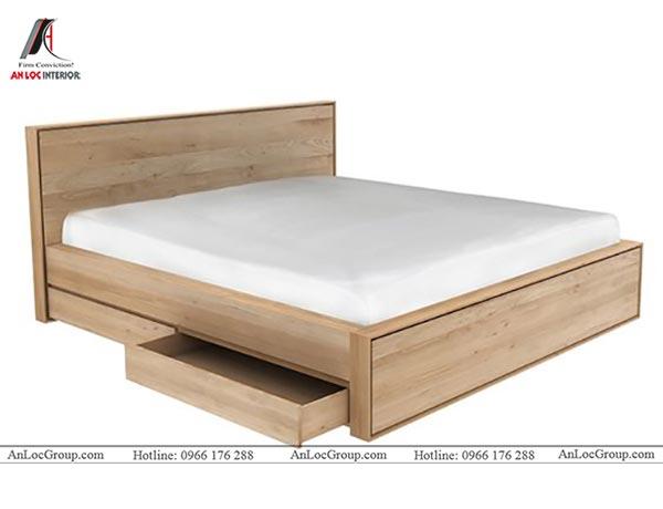 Giường ngủ gỗ công nghiệp MFC An Cường