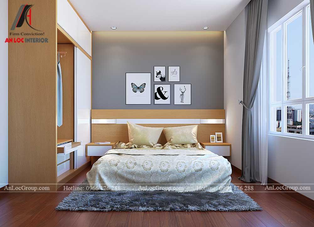 Thiết kế chung cư D'. Capitale Trần Duy Hưng - phòng ngủ 1