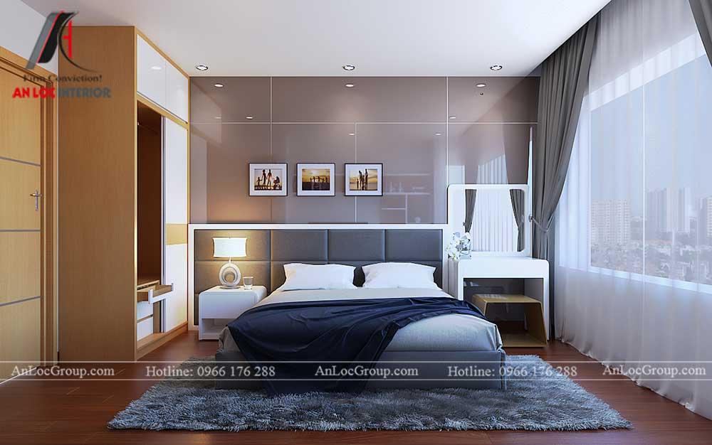 Thiết kế chung cư D'. Capitale Trần Duy Hưng - phòng ngủ 3