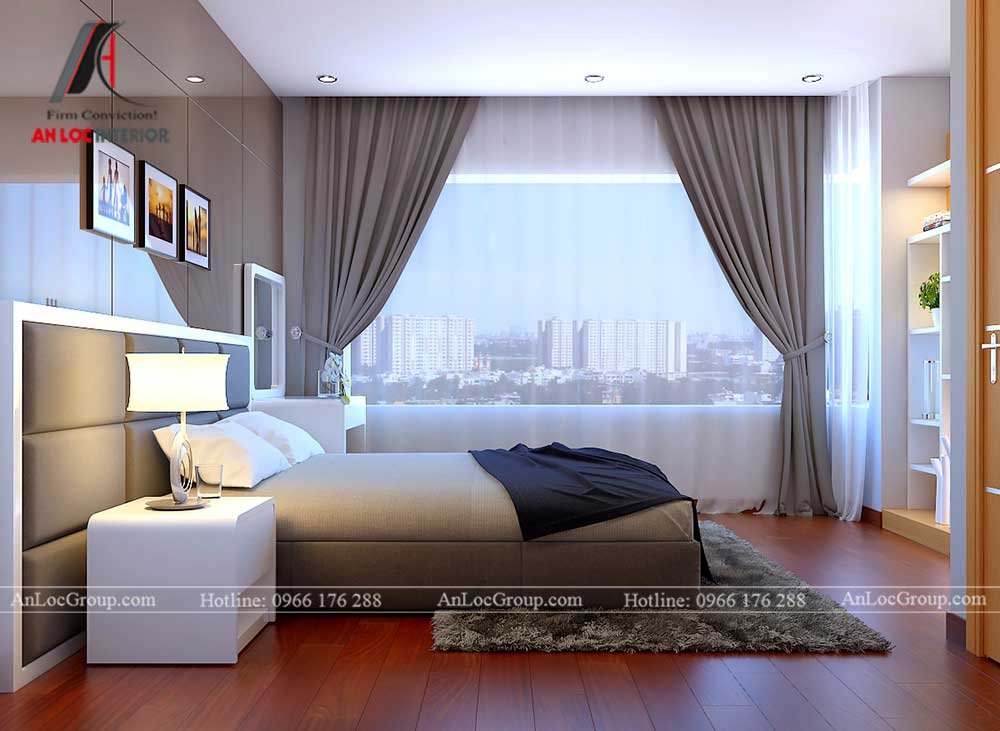 Thiết kế chung cư D'. Capitale Trần Duy Hưng - phòng ngủ 4