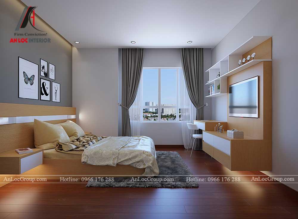 Thiết kế chung cư D'. Capitale Trần Duy Hưng - phòng ngủ 5