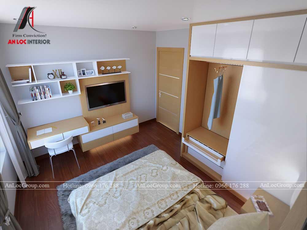 Thiết kế chung cư D'. Capitale Trần Duy Hưng - phòng ngủ 6