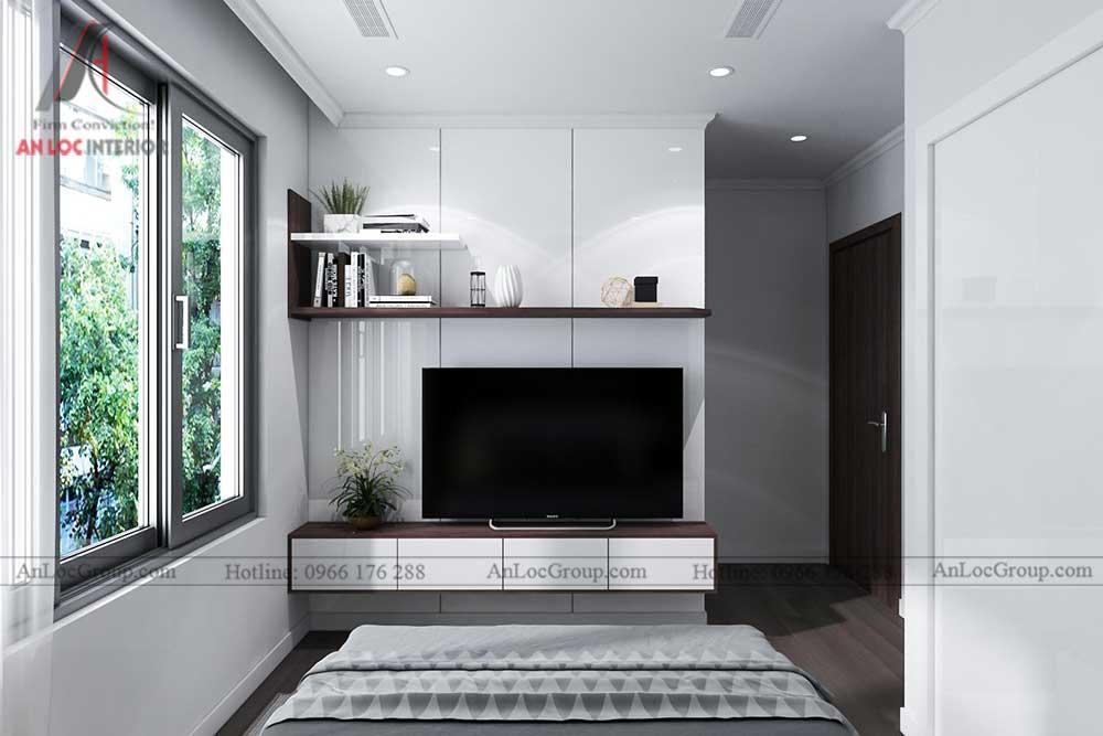 Thiết kế căn hộ 96m2 tại Vinhome Bắc Ninh 10