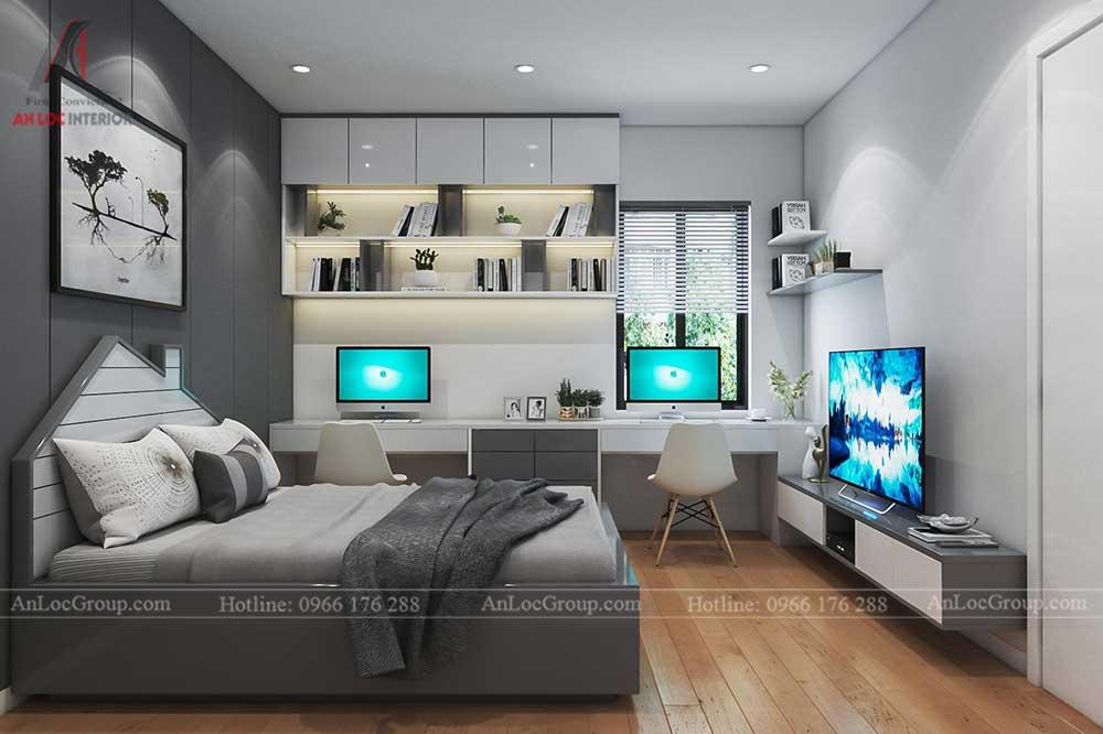 Thiết kế nội thất nhà phố tại Hải Phòng - Phòng ngủ 10