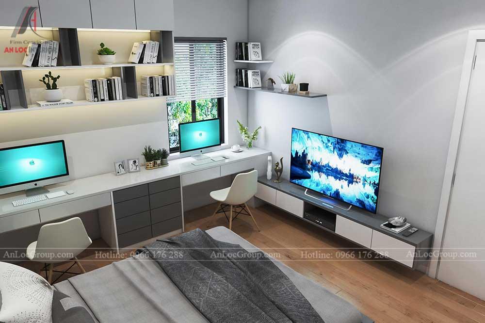 Thiết kế nội thất nhà phố tại Hải Phòng - Phòng ngủ 13