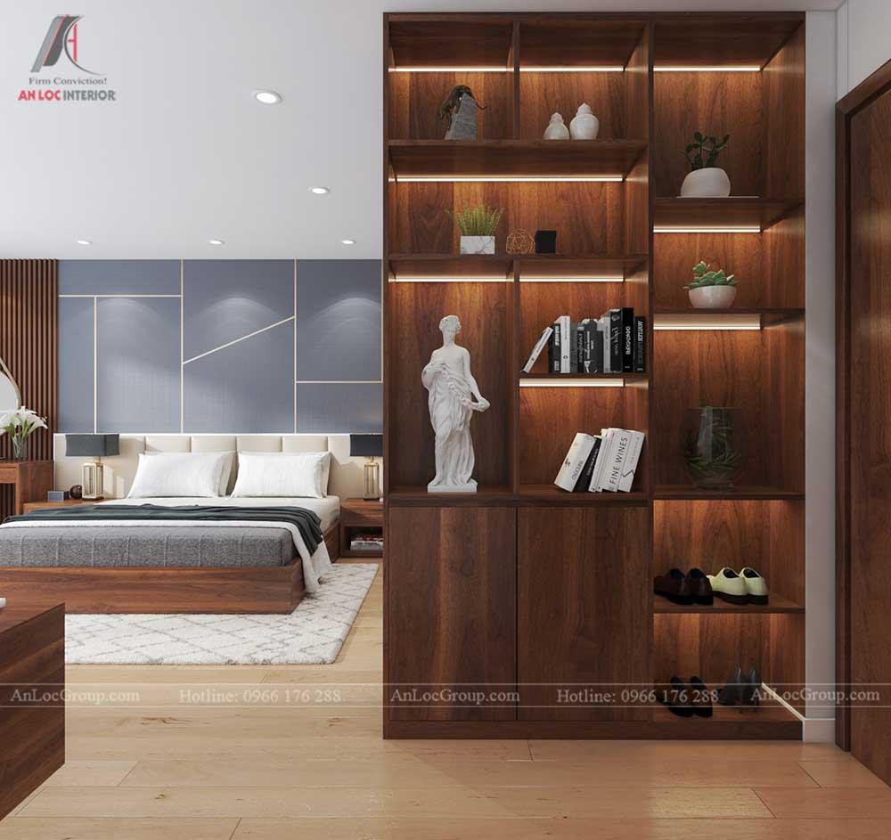Thiết kế nội thất nhà phố tại Hải Phòng - Phòng ngủ 3