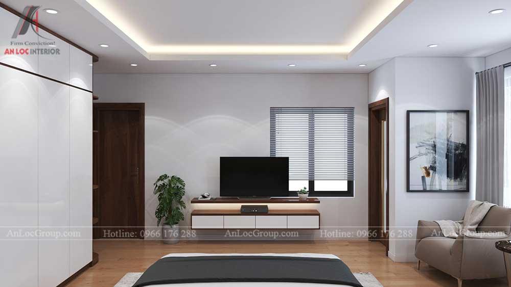 Thiết kế nội thất nhà phố tại Hải Phòng - Phòng ngủ 6