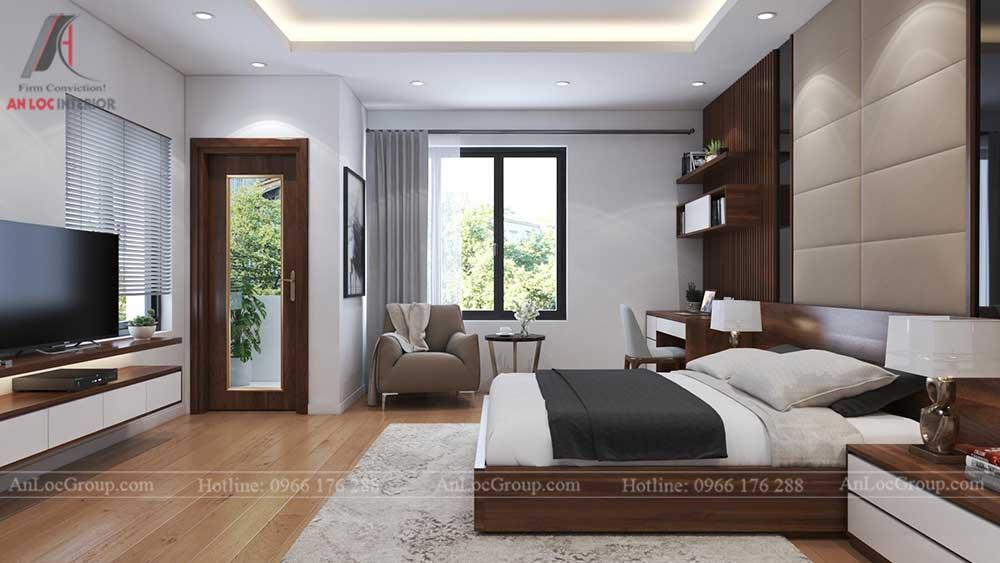 Thiết kế nội thất nhà phố tại Hải Phòng - Phòng ngủ 7