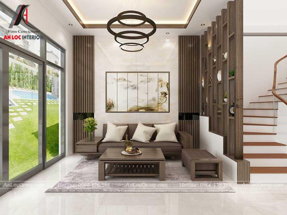 Mẫu thiết kế nội thất nhà phố đẹp tại Gia Lâm, Hà Nội – Anh Chính