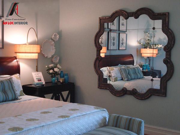 Cách đặt gương trong phòng ngủ
