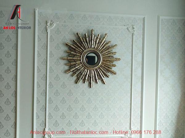 Gương trang trí phòng khách Clara