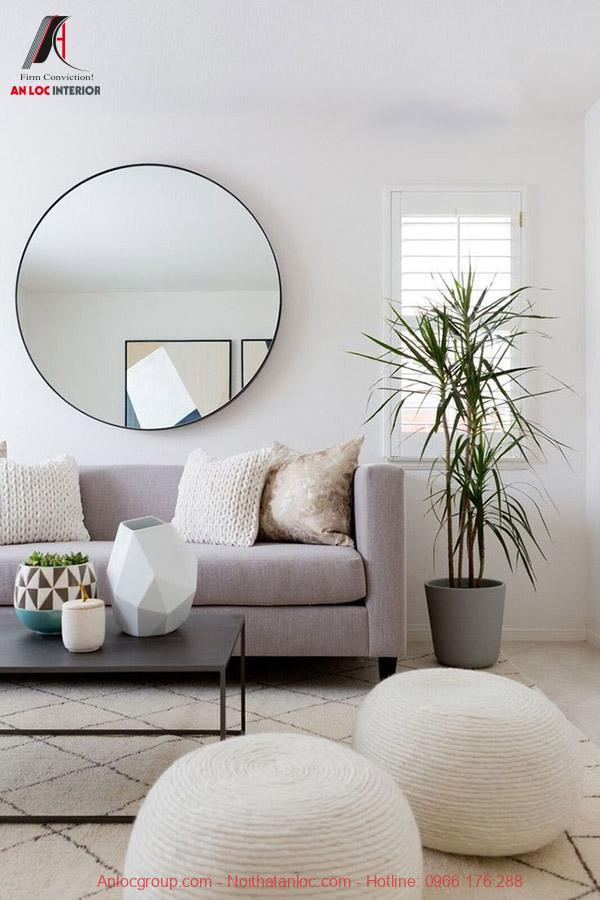 Gương trang trí phòng khách Decor Optima 80cm