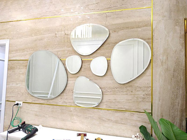 Gương trang trí phòng khách Mimoza