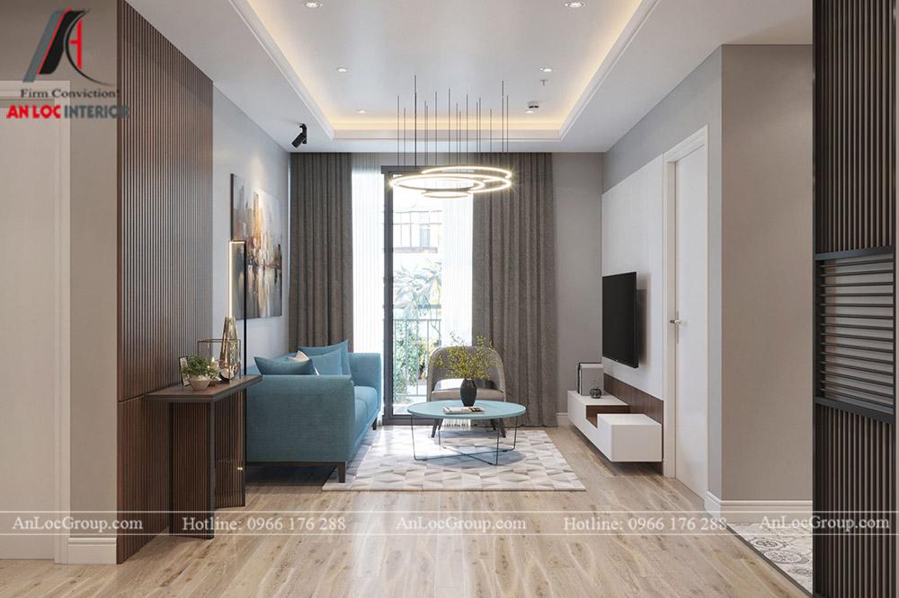 Anlocgroup - Thiết kế nội thất chung cư Valencia Garden - Ảnh 2