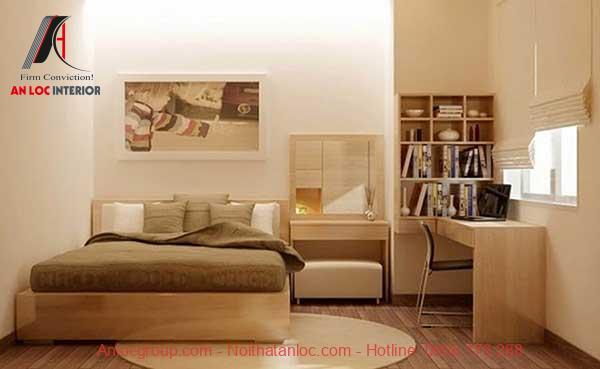 Thiết kế phòng ngủ nhỏ 10m2 đơn giản