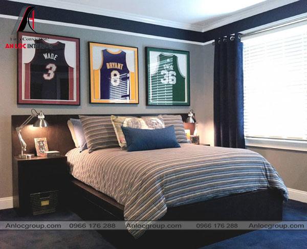 Mẫu 12 - Thiết kế phòng ngủ nhỏ 10m2 phù hợp với thanh niên