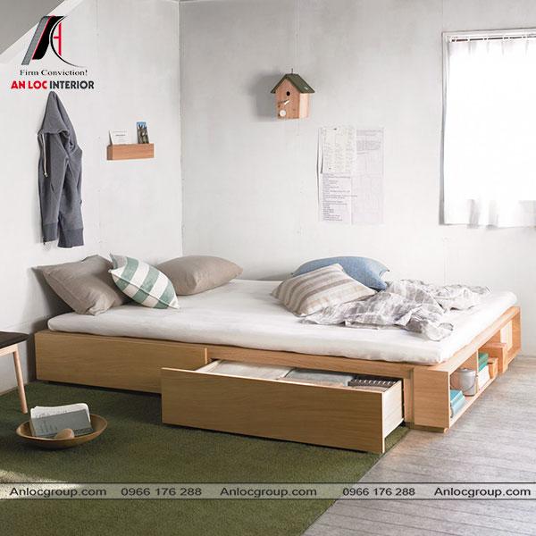 Mẫu 7 - Thiết kế phòng ngủ nhỏ 10m2 theo phong cách tối giản