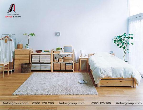 Mẫu 8 - Sử dụng đồ nội thất vừa vặn với không gian phòng ngủ