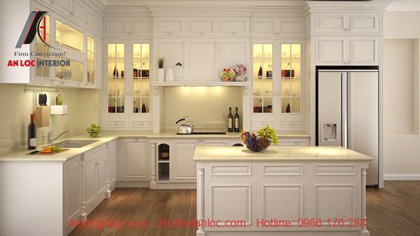 Không gian bếp hiện đại, cân bằng mọi yếu tố