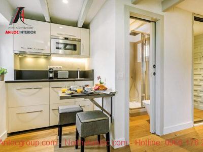 Phong thủy nhà bếp và nhà vệ sinh đặt cạnh nhau