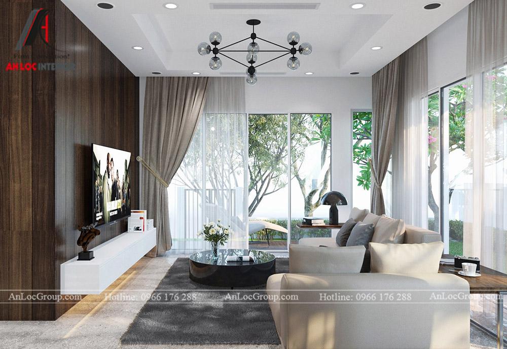 Mẫu thiết kế nội thất biệt thự Vinhomes Thăng Long - Ảnh 1
