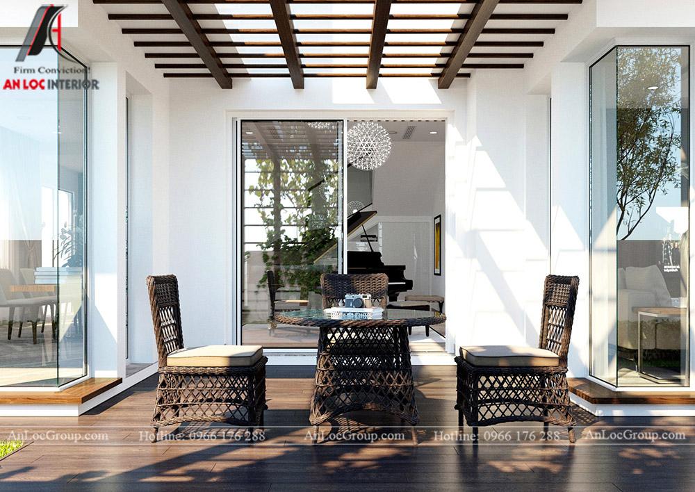 Mẫu thiết kế nội thất biệt thự Vinhomes Thăng Long - Ảnh 3
