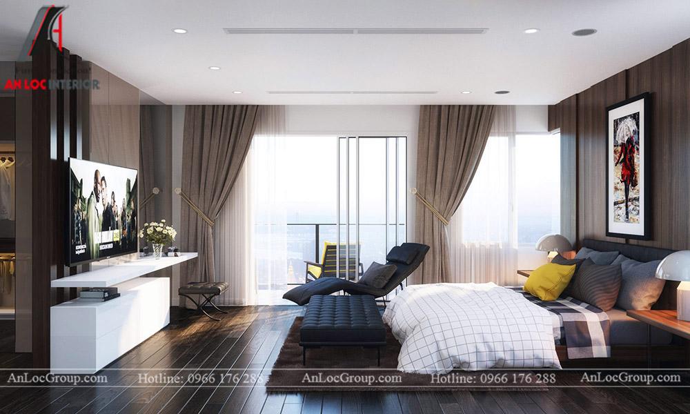 Mẫu thiết kế nội thất biệt thự Vinhomes Thăng Long - Ảnh 5