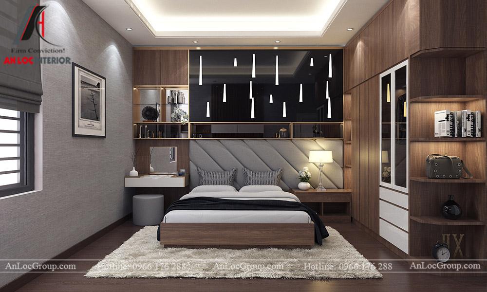 Mẫu thiết kế nội thất biệt thự Vinhomes Thăng Long - Ảnh 6