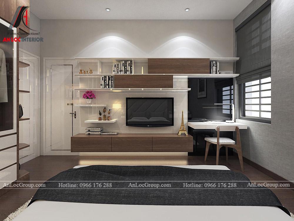 Mẫu thiết kế nội thất biệt thự Vinhomes Thăng Long - Ảnh 7
