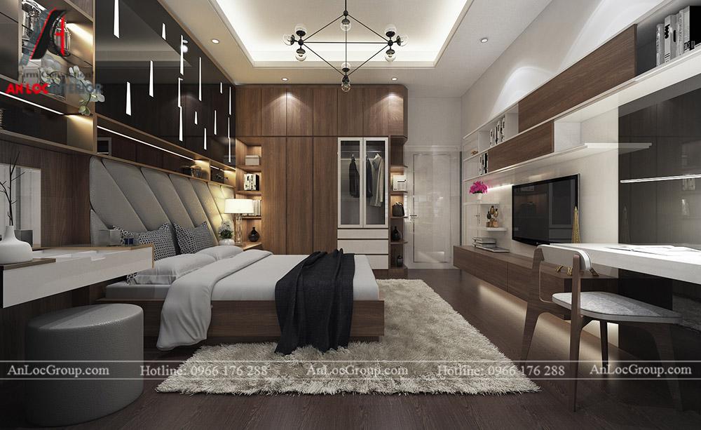 Mẫu thiết kế nội thất biệt thự Vinhomes Thăng Long - Ảnh 8