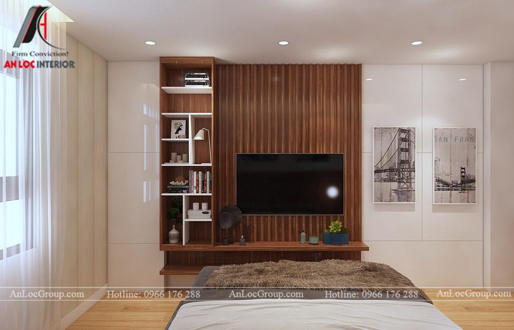 Mẫu thiết kế căn hộ 50m2 tại Vinhomes Park - Ảnh 3