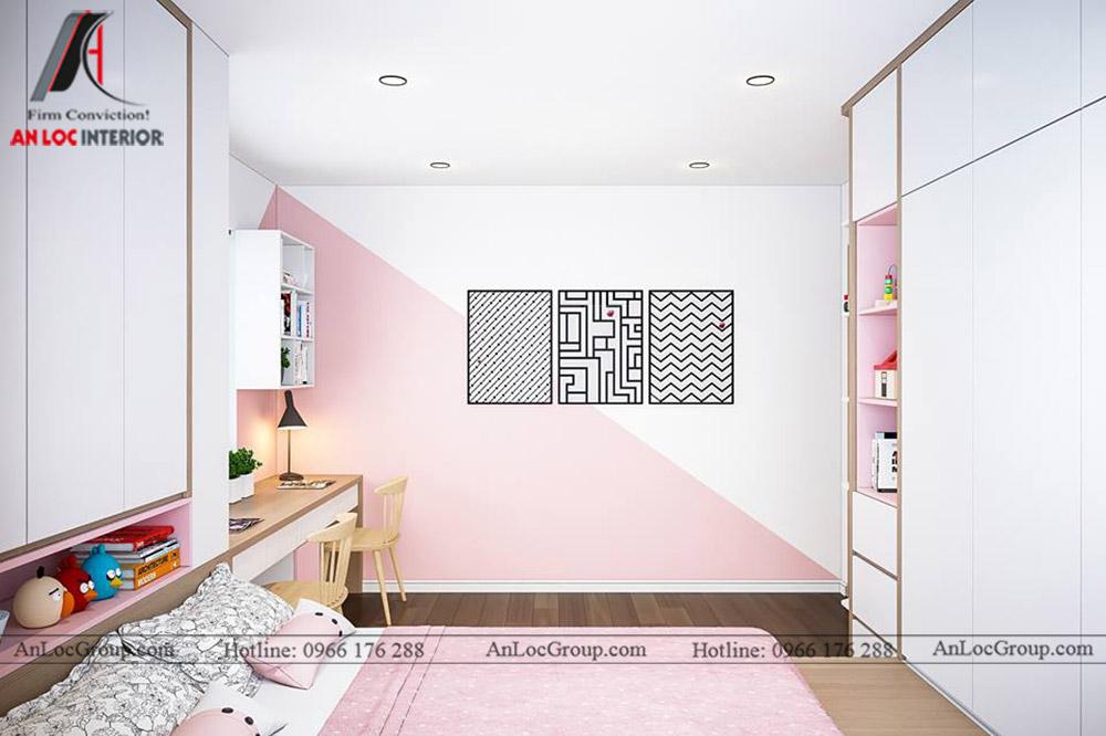 Thiết kế nội thất chung cư 70m2 tại Eco Lake View - Ảnh 10