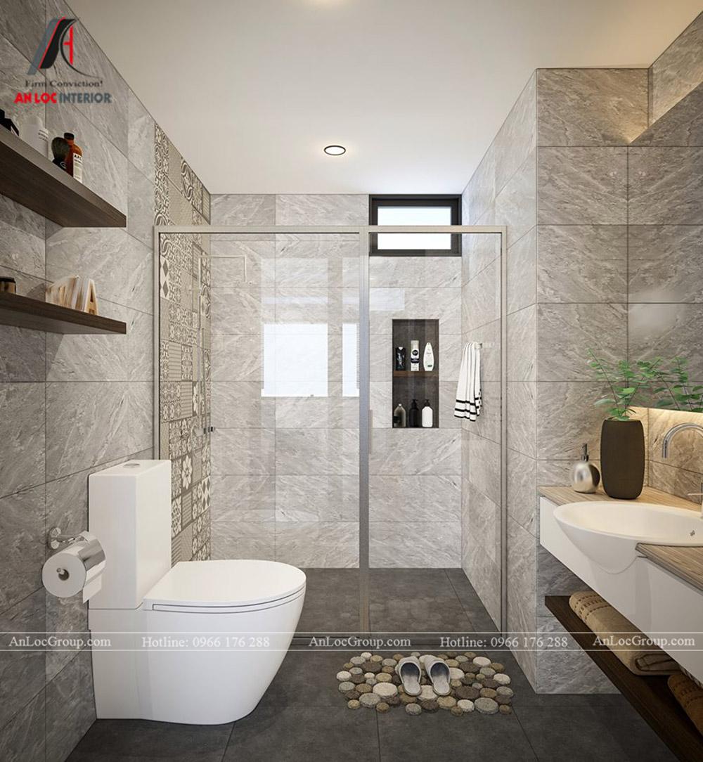 Thiết kế nội thất chung cư 70m2 tại Eco Lake View - Ảnh 12
