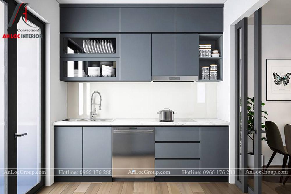Thiết kế nội thất chung cư 70m2 tại Eco Lake View - Ảnh 6