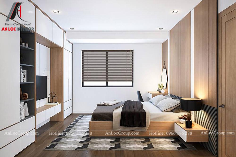 Thiết kế nội thất chung cư 70m2 tại Eco Lake View - Ảnh 7