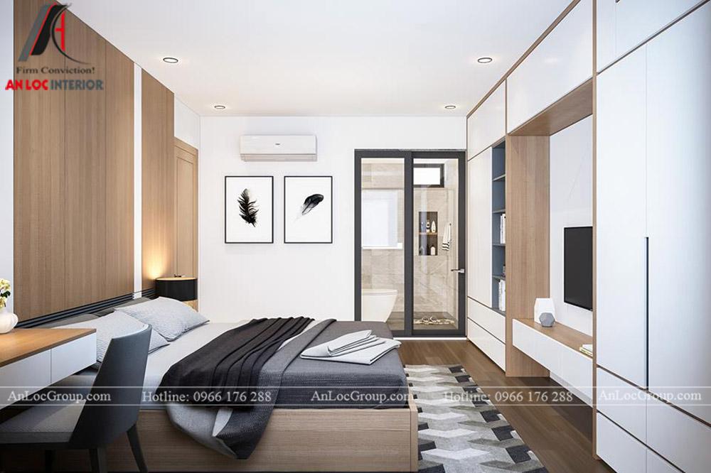 Thiết kế nội thất chung cư 70m2 tại Eco Lake View - Ảnh 8