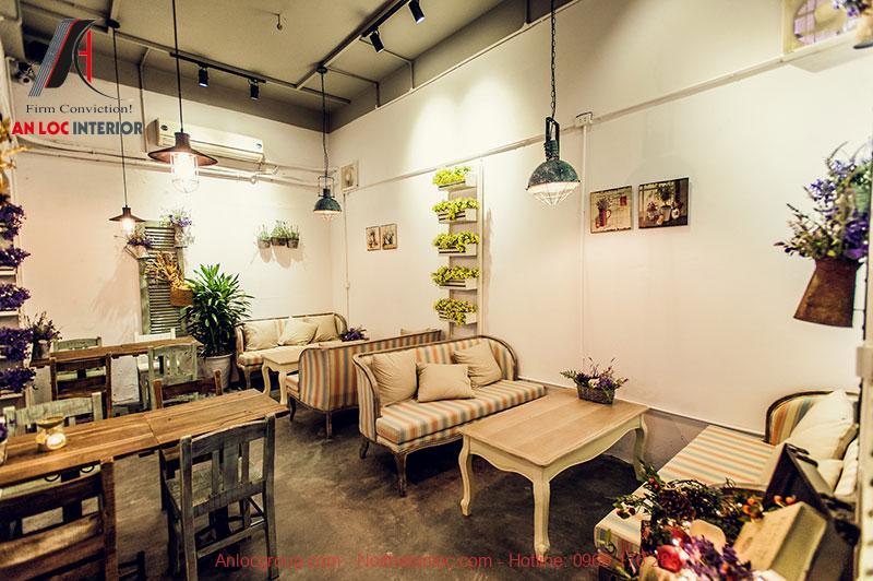 Cafe phong cách vintage Hà Nội